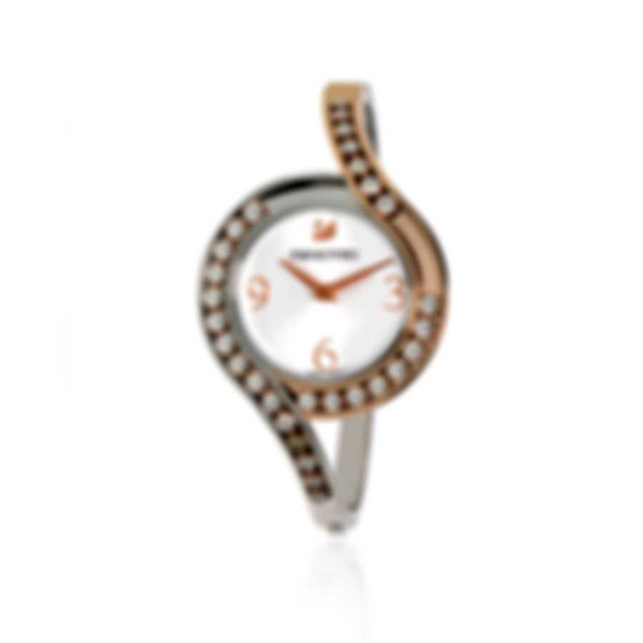 Swarovski Lovely Crystals Rose Gold PVD And Crystal Watch 5452486