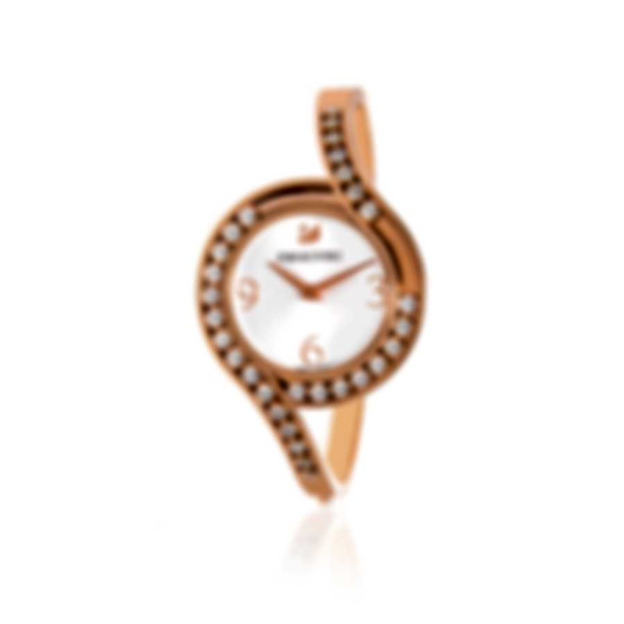 Swarovski Lovely Crystals Rose Gold PVD And Crystal Watch 5452489