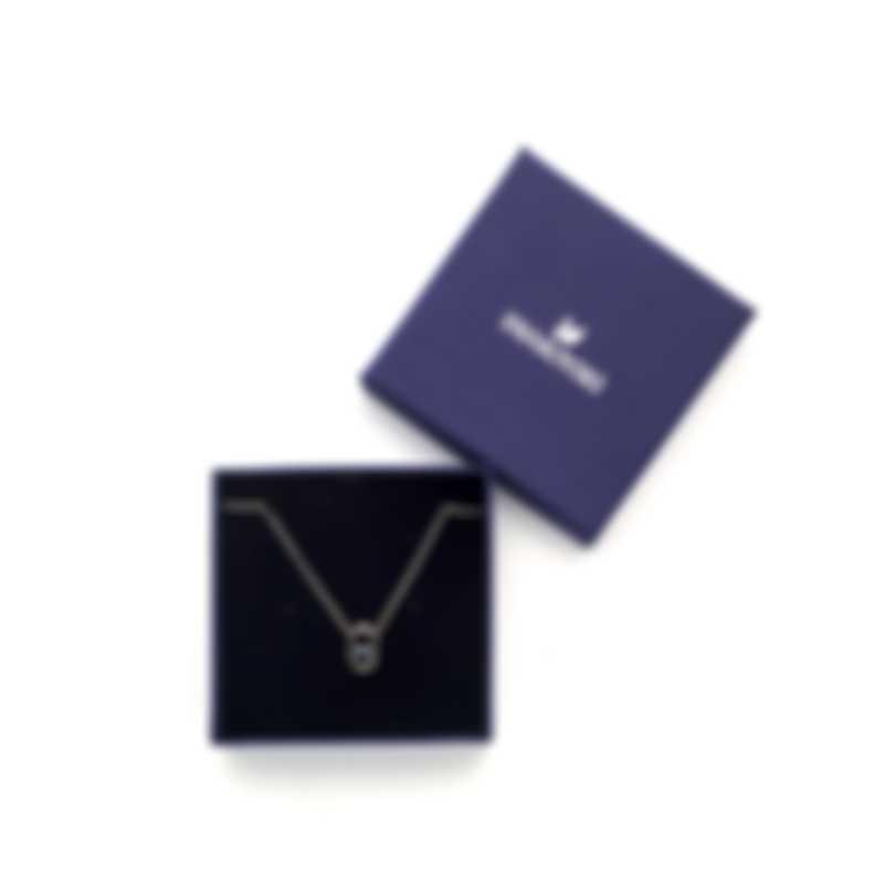 Swarovski Sparkling Rhodium Plated Crystal Necklace 5479118