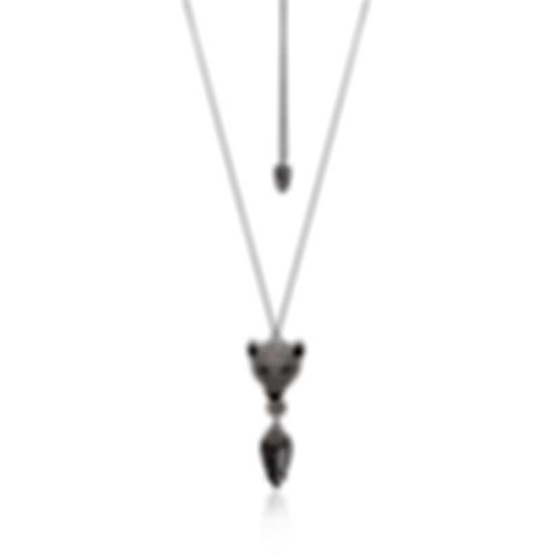 Swarovski Polar Bestiary Rhodium And Crystal Necklace 5498246