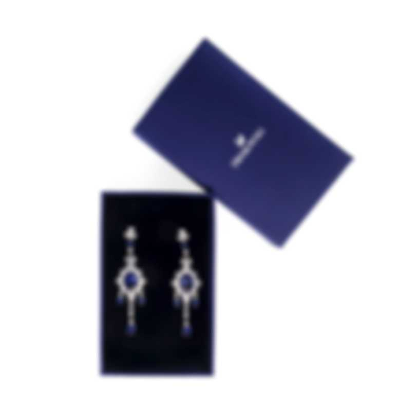 Swarovski Palace Rhodium And Crystal Earrings 5498817