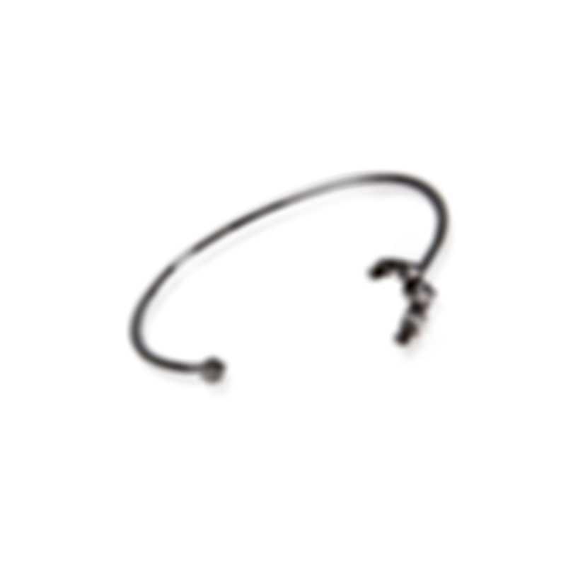 Swarovski Moonsun Rhodium Plated Czech White Crystal Bracelet 5508443