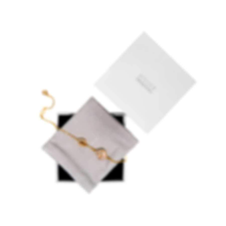 Swarovski Graceful Gold Tone And Crystal Bracelet 5511817