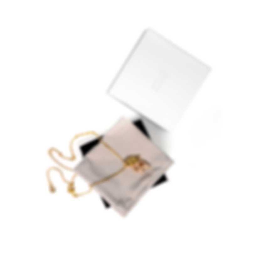 Swarovski Graceful Gold Tone And Crystal Necklace 5511813