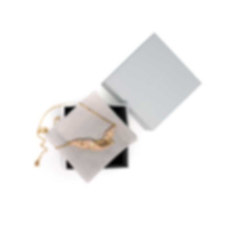 Swarovski Graceful Gold Tone And Crystal Necklace 5511820