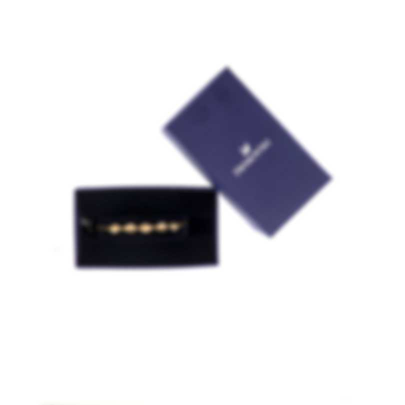 Swarovski Shell Gold Tone And Crystal Bracelet 5520655
