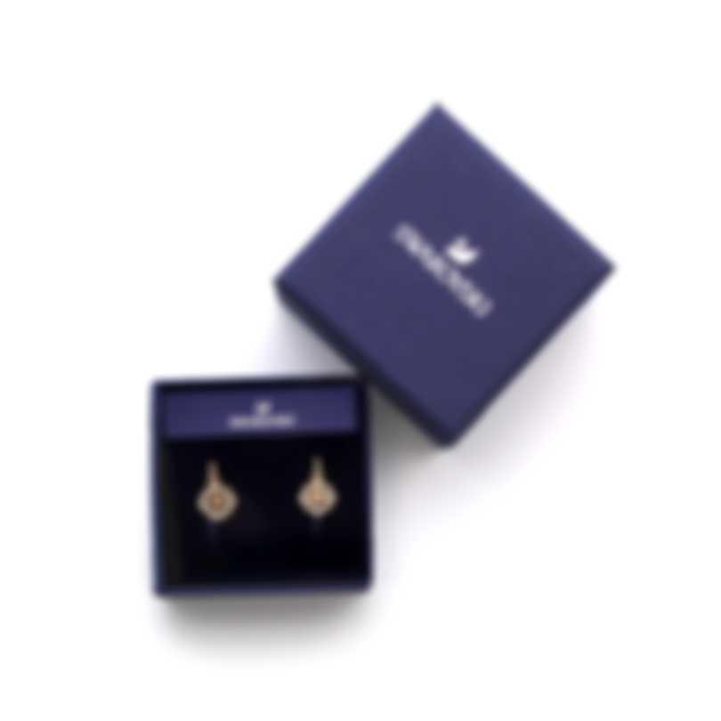 Swarovski Ocean Adventure Gold Tone And Crystal Earrings 5522858