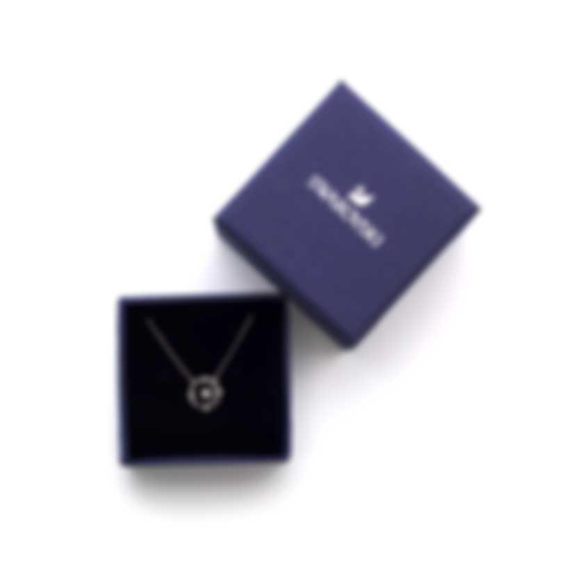 Swarovski North Rhodium And Crystal Necklace 5551796