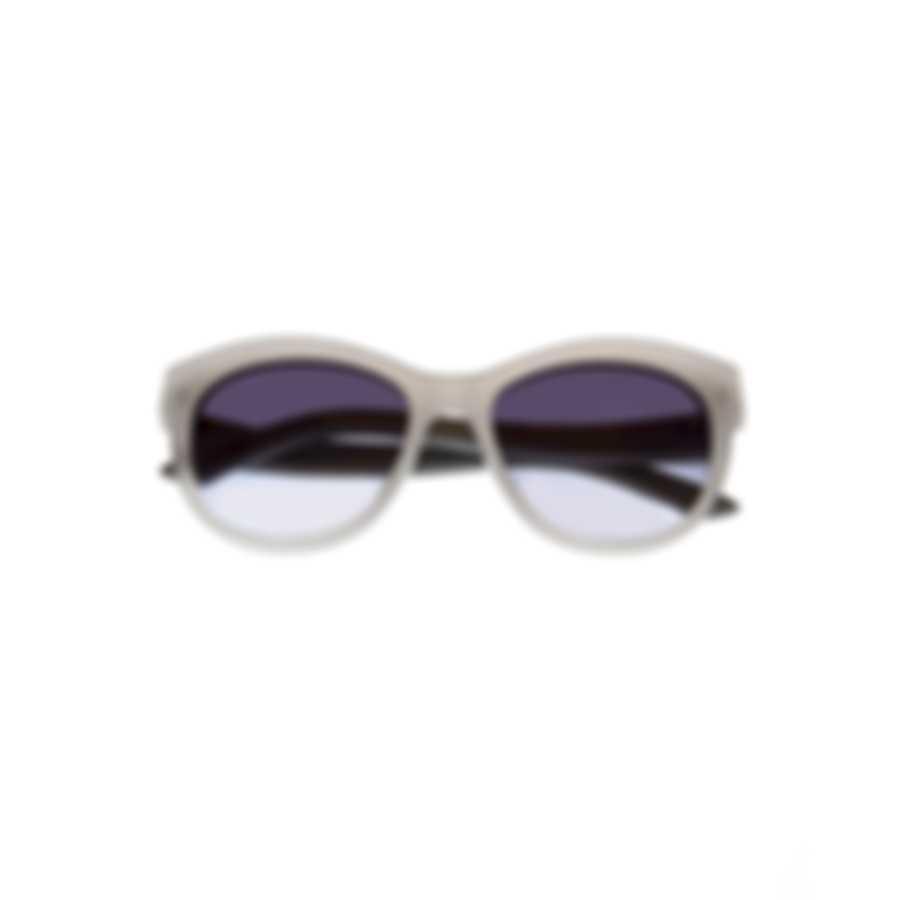 Swarovski White & Smoke Wayfarer Style Sunglasses SK0110-5421B