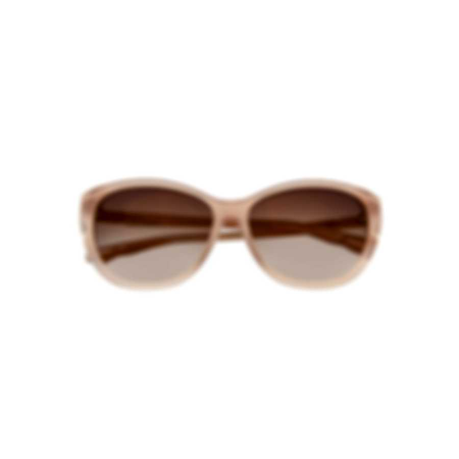 Swarovski Shiny Pink & Smoke Sunglasses SK0117-5772B