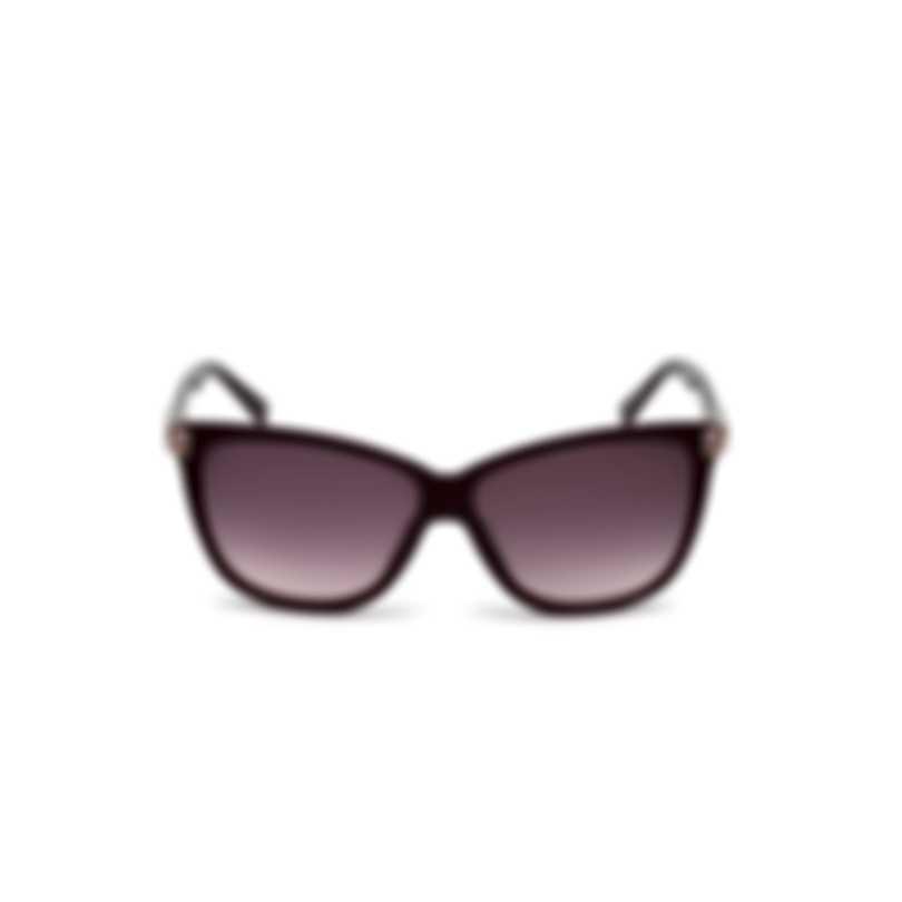 Swarovski Shiny Violet & Gradient Violet Square Sunglasses SK0137-5981Z
