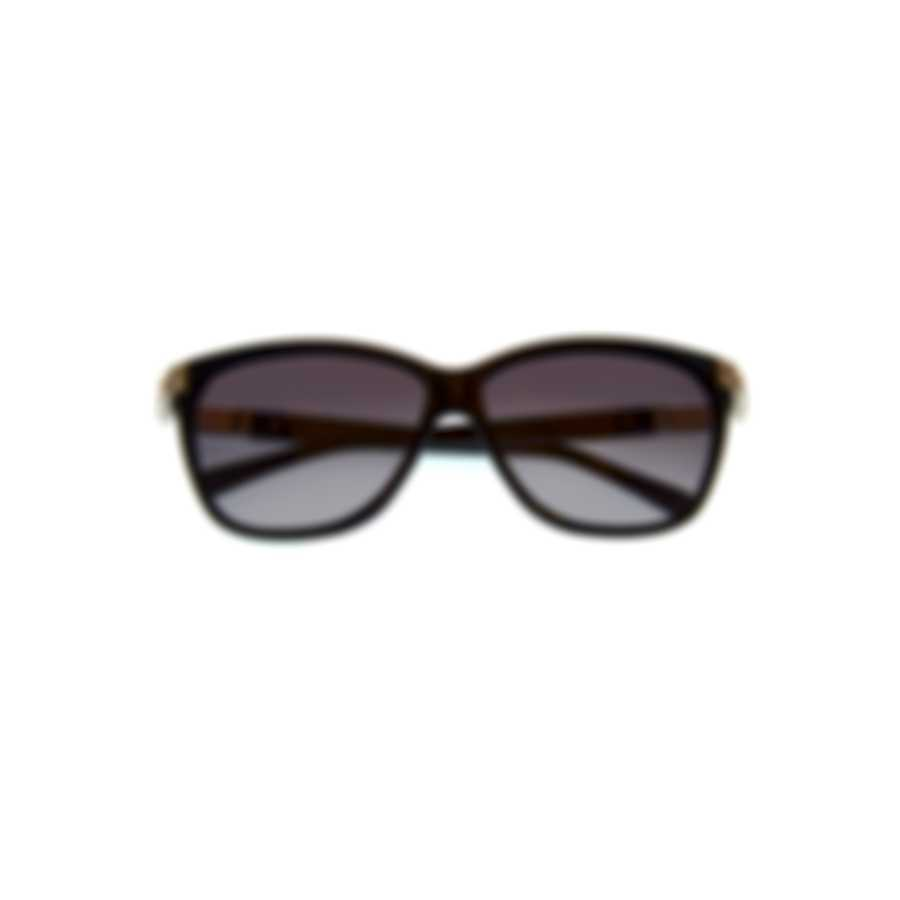 Swarovski Shiny Black & Smoke Sunglasses SK0137-5901B