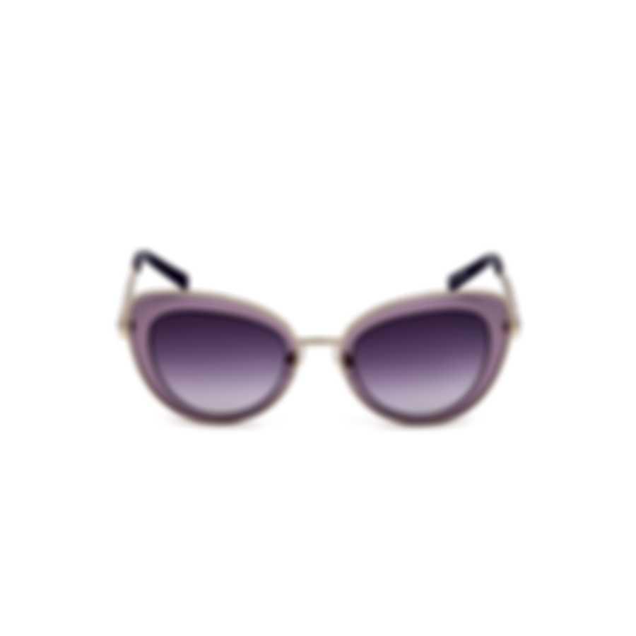 Swarovski Shiny Pink & Gradient Violet Cat Sunglasses SK0144-5172Z