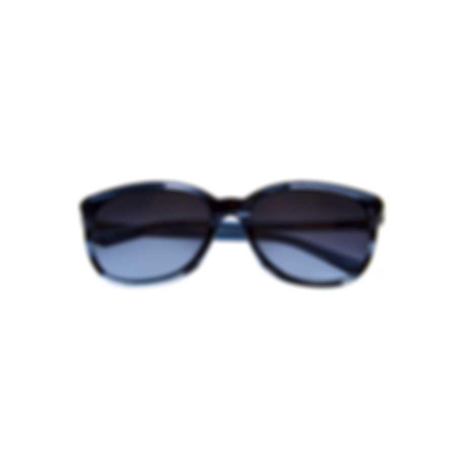 Swarovski Shiny Blue & Gradient Blue Square Sunglasses SK0146-H-5690W