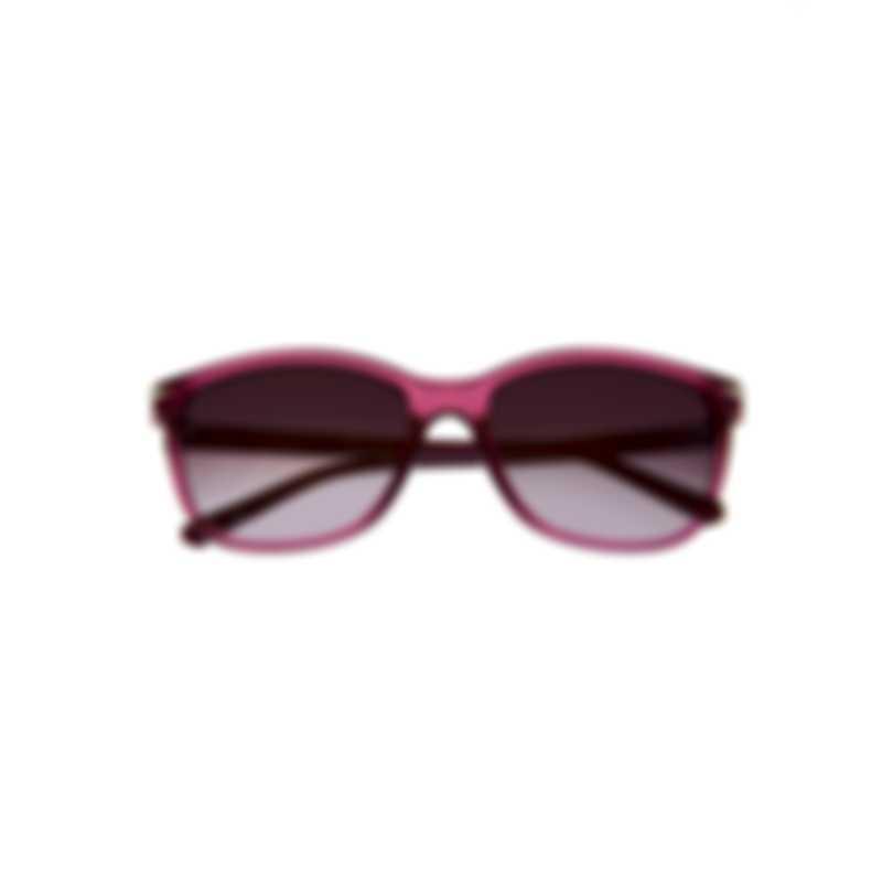 Swarovski Shiny Pink & Bordeaux Sunglasses SK0192-5572T