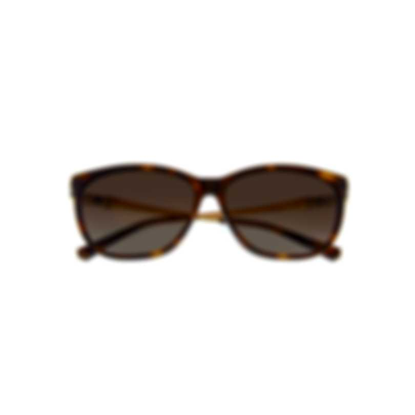 Swarovski Dark Havana & Brown Sunglasses SK0225-5652F
