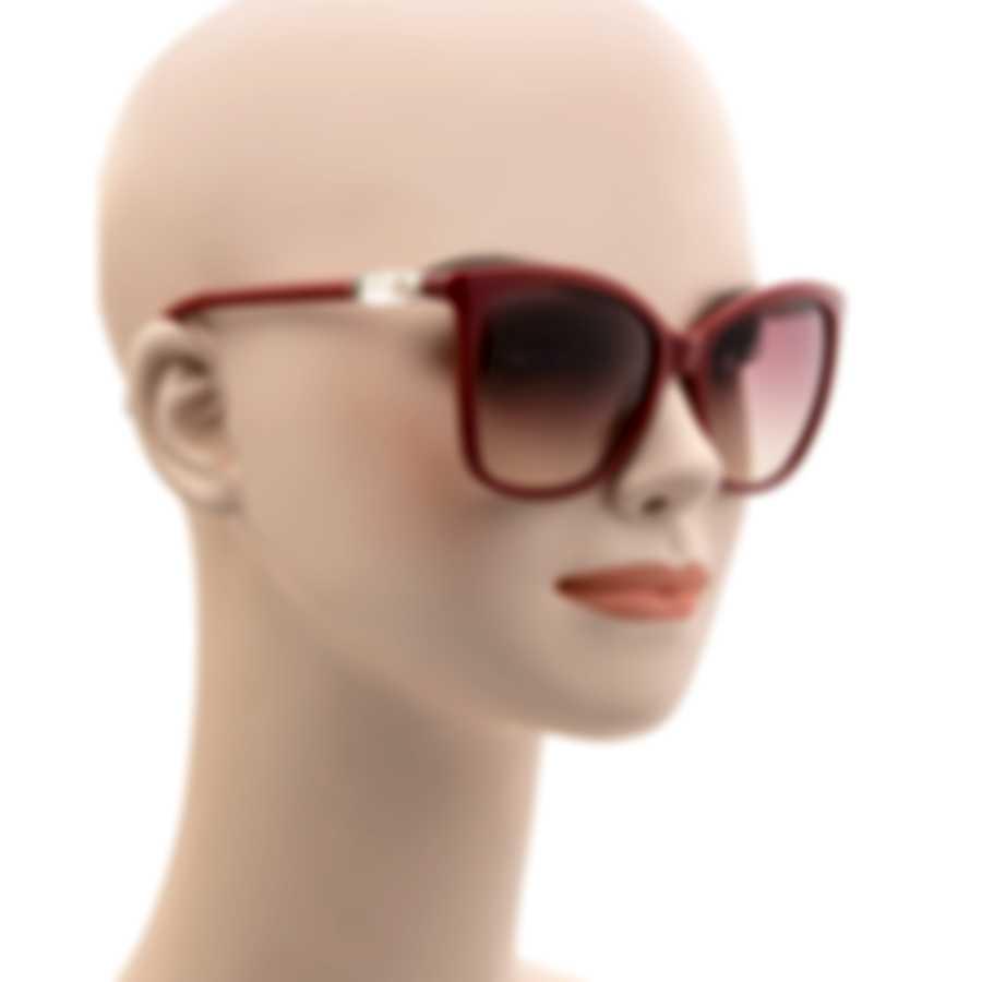 Swarovski Shiny Bordeaux & Bordeaux Sunglasses SK0227-5569T