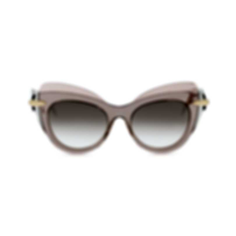 Pomellato Novelty Pink Pink Brown Women's Sunglasses PM0002S-30000051003