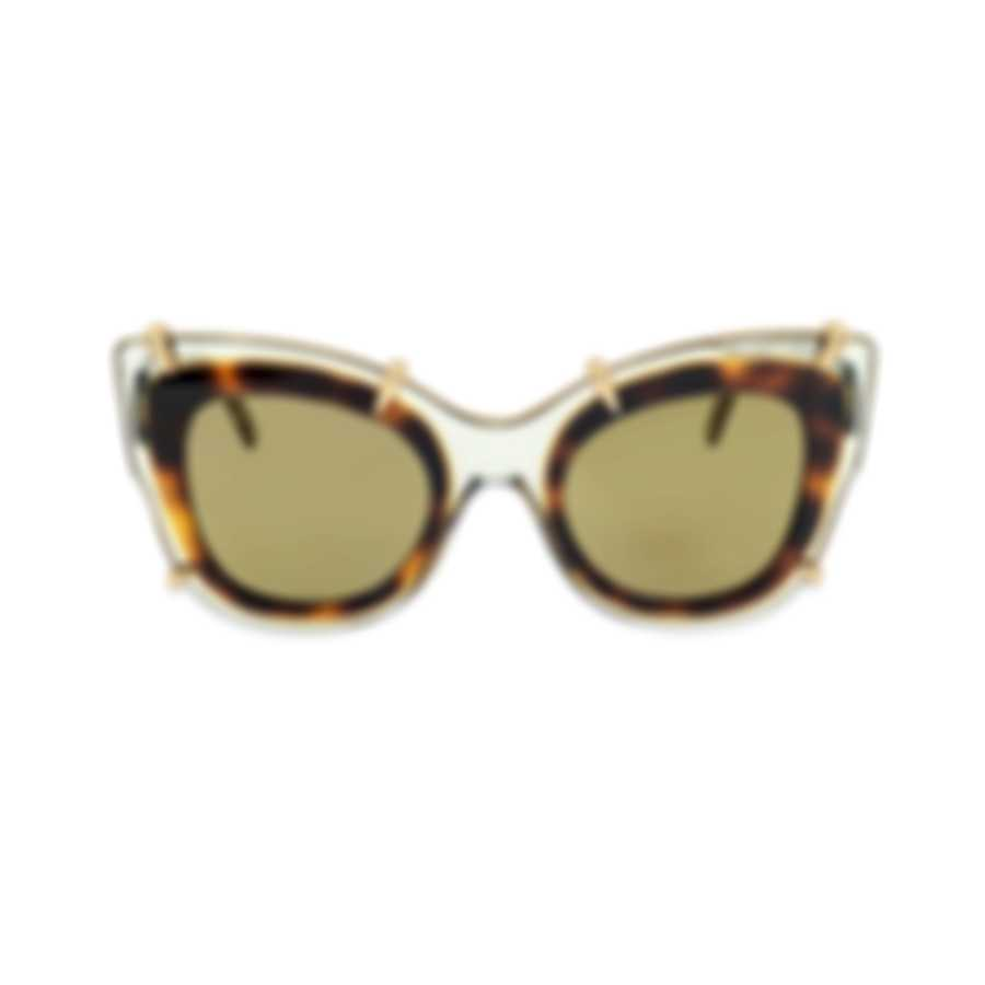 Pomellato Novelty Beige Beige Grey Women's Sunglasses PM0003S-30000052003