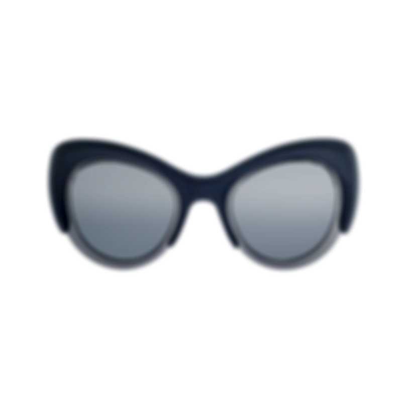 Pomellato Novelty Grey Grey Silver Women's Sunglasses PM0010S-30000346003