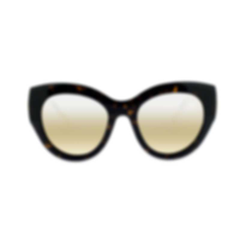 Pomellato Core Havana Bronze Women's Sunglasses PM0011S-30000347002