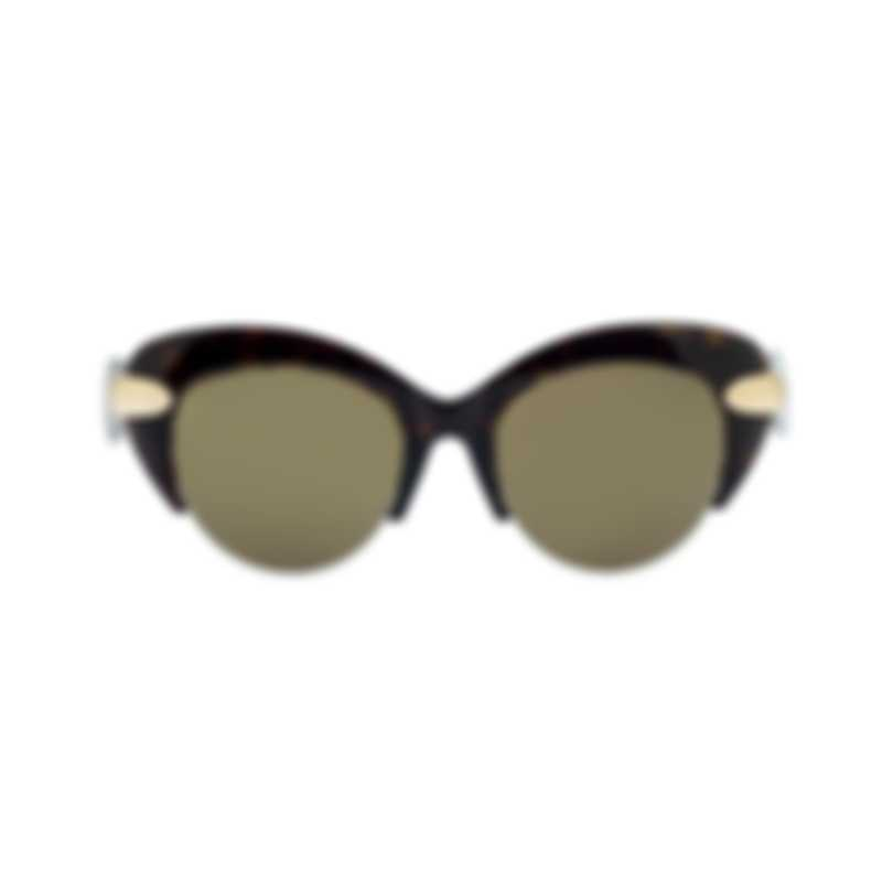 Pomellato Novelty Avana Brown Women's Sunglasses PM0018SA-30000786002