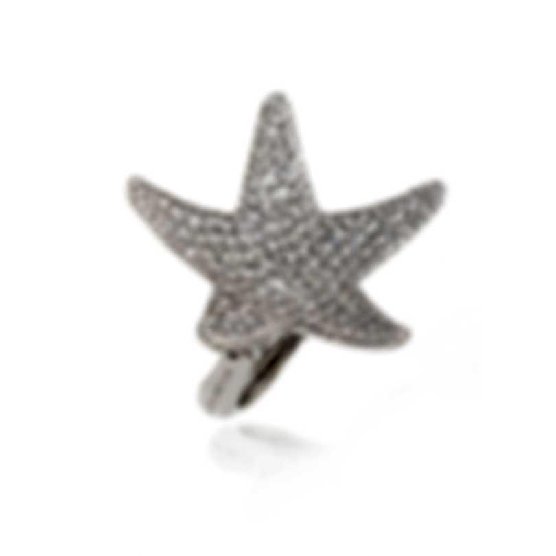 Pasquale Bruni Stella Nascente 18k White Gold Diamond 3.33ct Ring Sz 6 13554B