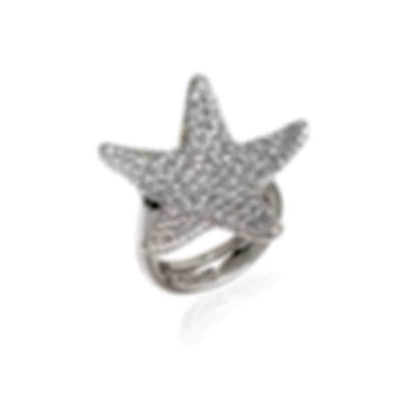 Pasquale Bruni Stella Nascente 18k White Gold Diamond 2.19ct Ring Sz 7 13555B
