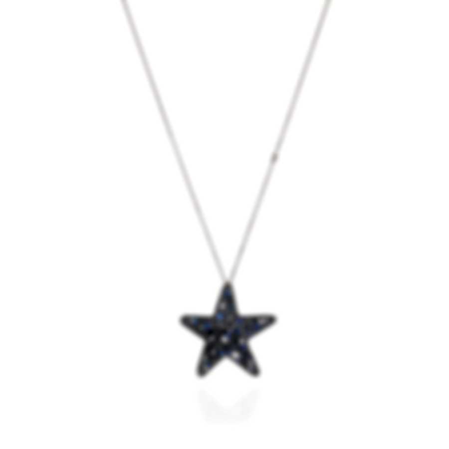 Pasquale Bruni Orione 18k White Gold Diamond 3.06ct & Sapphire Necklace 13825BN