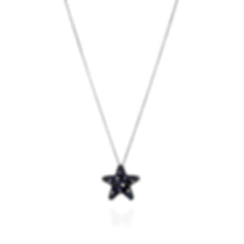 Pasquale Bruni Orione 18k White Gold Diamond 0.89ct And Sapphire Necklace 13911BN