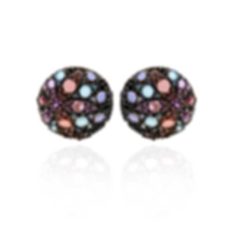 Pasquale Bruni Mandala 18k Rose Gold And Amethyst Earrings 14463RN