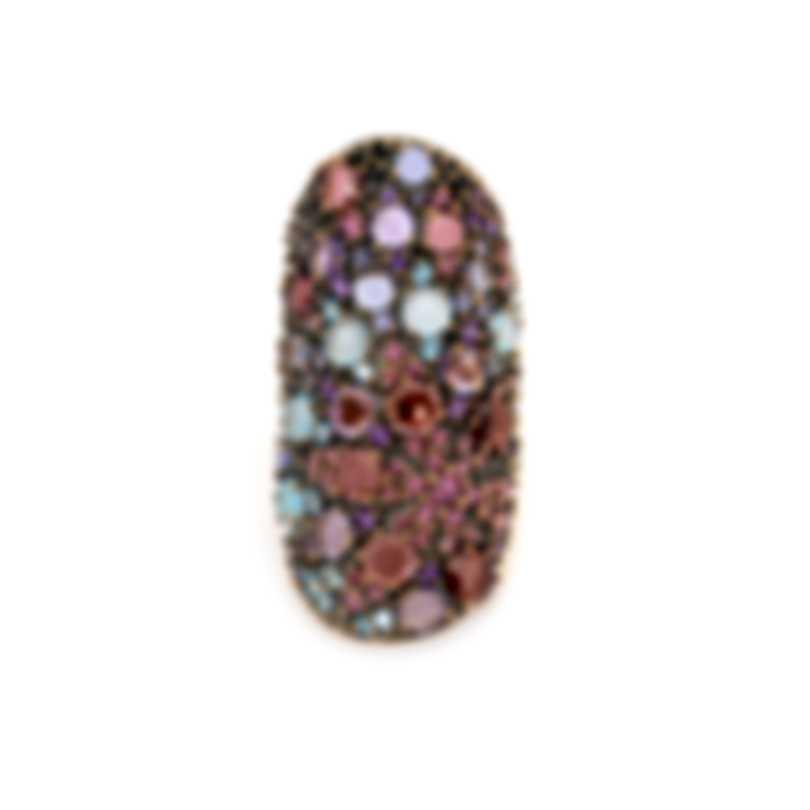 Pasquale Bruni Mandala 18k Rose Gold And Amethyst Ring Sz 7.25 14164RN