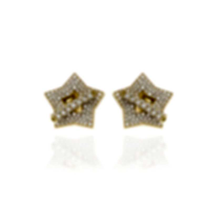 Pasquale Bruni Make Love 18k Yellow Gold Diamond 2.08ct Earrings 15407G
