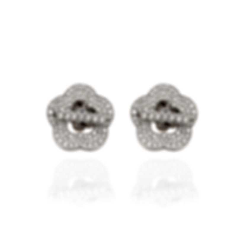 Pasquale Bruni Make Love 18k White Gold Diamond 2.46ct Earrings 15408B
