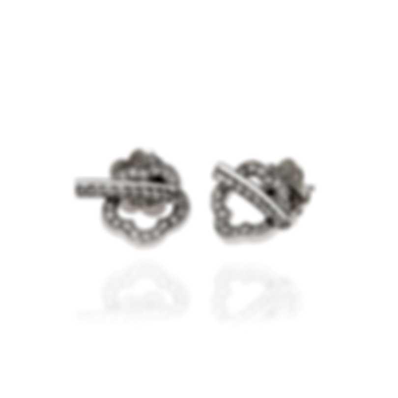 Pasquale Bruni Make Love 18k White Gold Diamond 0.67ct Earrings 15416B