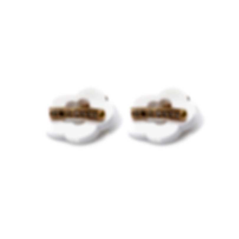 Pasquale Bruni Make Love 18k Rose Gold Diamond 0.27ct Kogolong Earrings 15433R