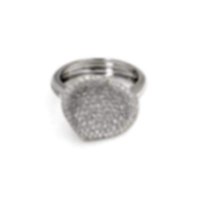 Pasquale Bruni In Love 18k White Gold Diamond 1.34ct Ring Sz 6.25 15000B