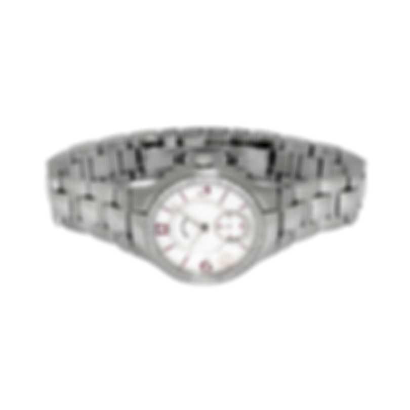 Philip Stein Diamond Classic Stainless Steel Quartz Ladies Watch 41D-MOPPR-SS3