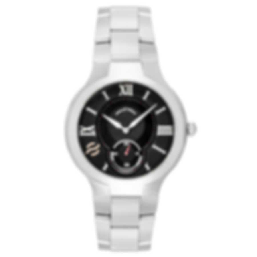 Philip Stein Signature Classic Quartz Men's Watch 42-BK-SS