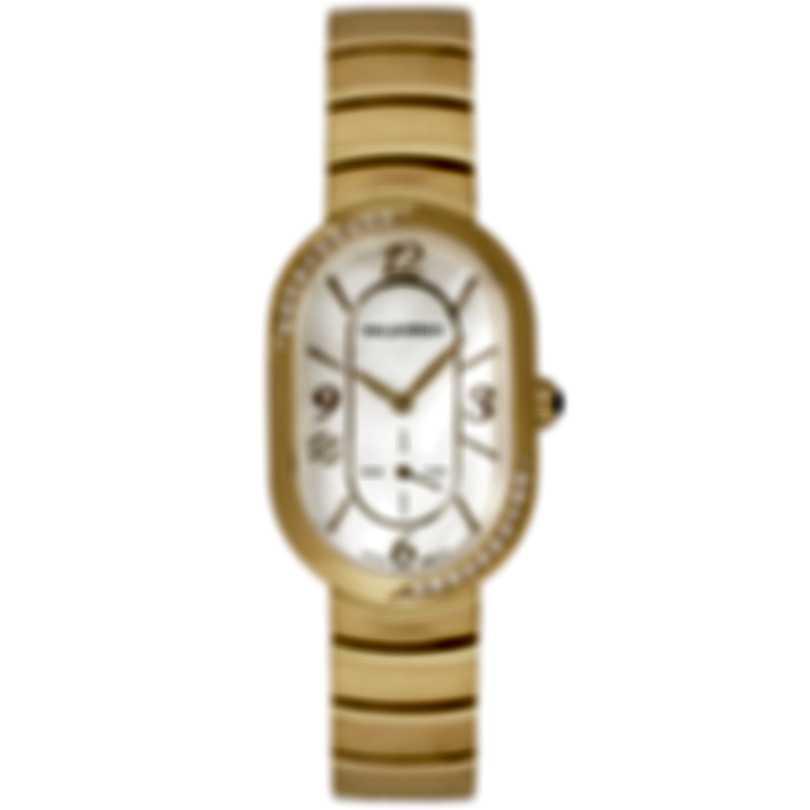 Philip Stein Modern Mini Gold Plated Quartz Ladies Watch 74SDGP-FGMOP-MSSGP