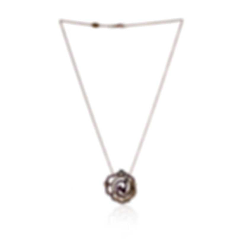 Piero Milano 18k Rose Gold Diamond(0.48ct Twd.)and Ruby Necklace M4086GB5R