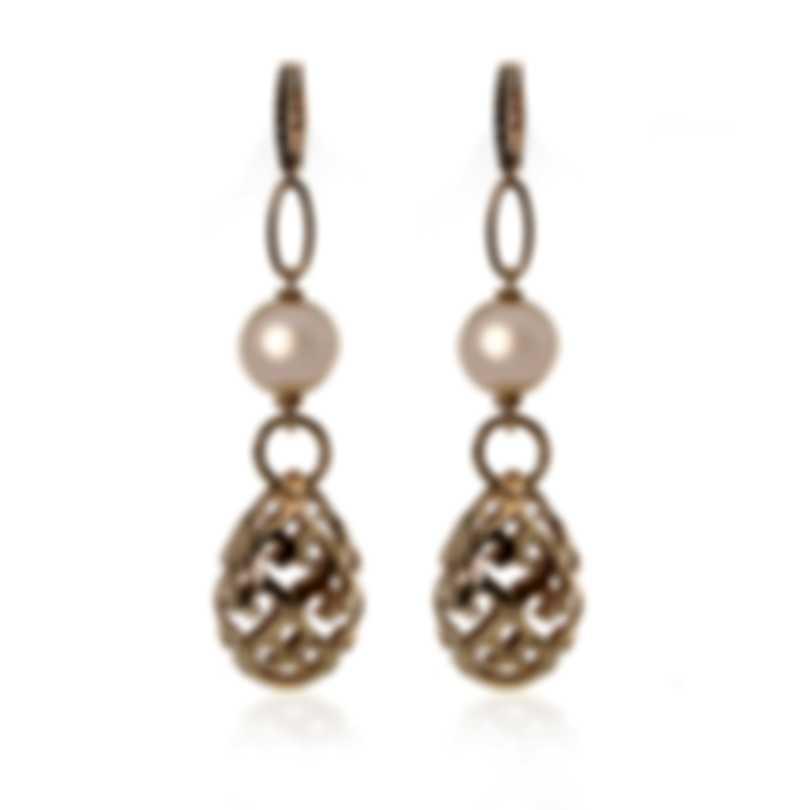 Piero Milano 18k Rose Gold Diamond(0.12ct Twd.)Earrings M3202RB5PR