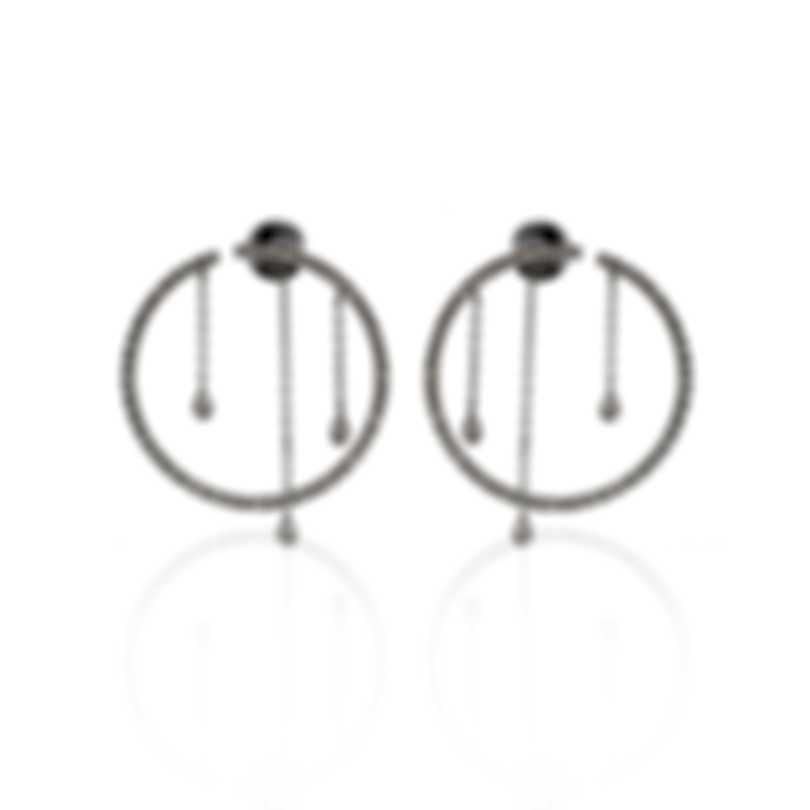 Piero Milano 18k White Gold Diamond(0.68ct Twd.)Earrings C0325RB