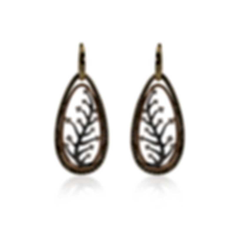 Piero Milano 18k Yellow Rose & White Gold Diamond(2.21ct Twd)Earrings R5069RB4BW
