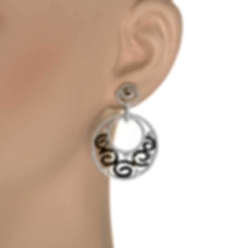 Piero Milano 18k White Gold Diamond(3.3ct Twd.)Earrings R6072RB2BN