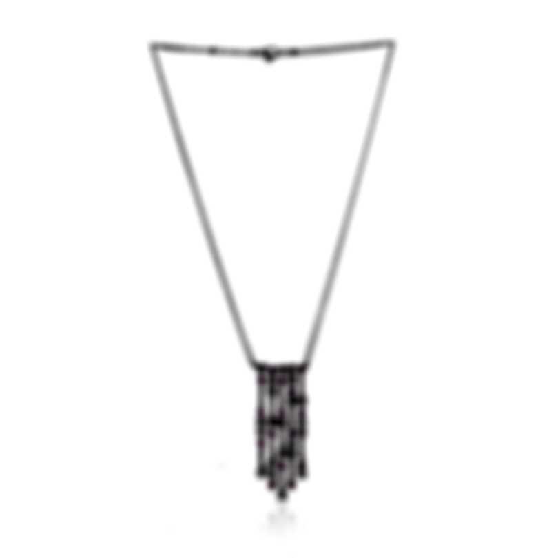 Piero Milano 18k White Gold Diamond(1.49ct Twd.)and Ruby Necklace Y2199GB2RU