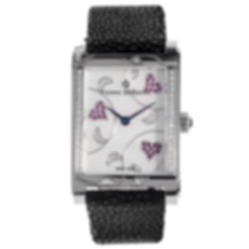 Pierre DeRoche Shinypebbles Valentine Quartz Ladies Watch SHP30009ACI1-001