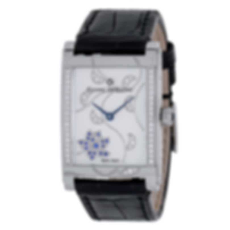Pierre DeRoche Shinypebbles Saphira Quartz Ladies Watch SHP30011ACI1-001