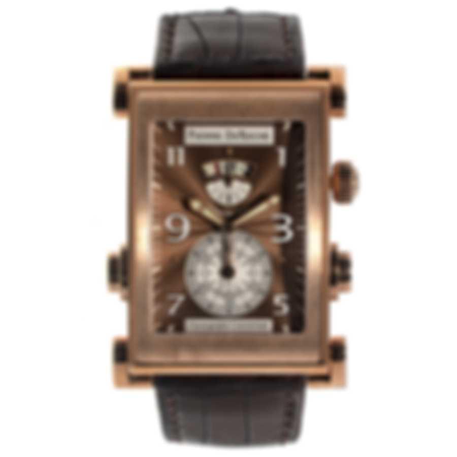 Pierre DeRoche Splitrock MDA 18K Rose Gold Automatic Men's Watch SPR30001ORO0-003CRO