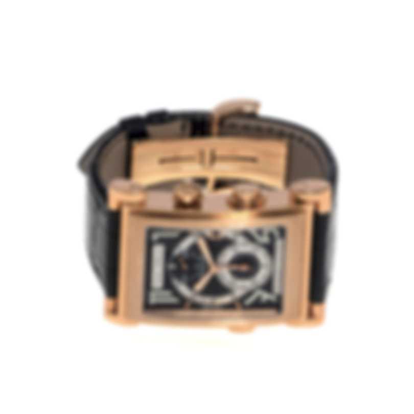 Pierre DeRoche Splitrock Big Numbers 18K Rose Gold Chronograph Automatic Men's Watch SPR30001ORO0-001CRO